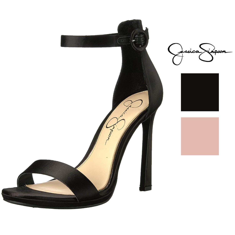popolare Jessica Simpson donna Plemy Ankle Strap Strap Strap Heeled Sandal  acquistare ora