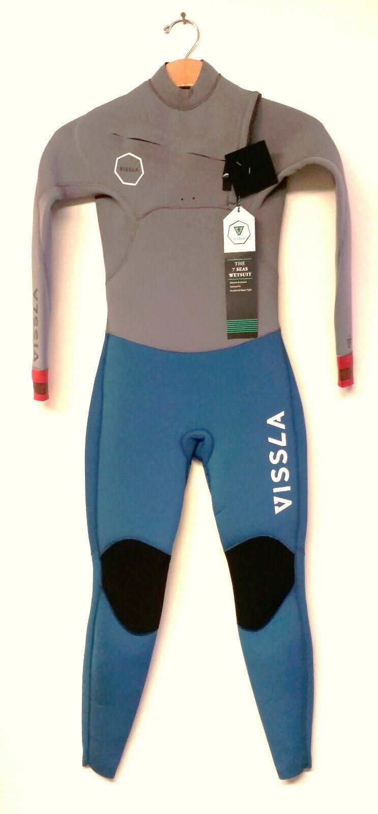 VISSLA Youth 3 2 SEVEN SEAS CZ Wetsuit -  MRN - Size 10 - NWT  more affordable