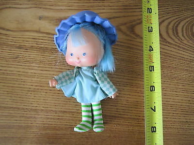 Vintage Strawberry Shortcake Doll Blueberry Muffin shirt coat outfit cloths part