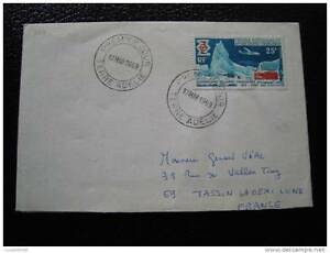 TAAF-lettre-1er-jour-17-3-69-timbre-yvert-et-tellier-n-31-cy6