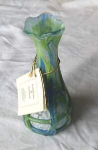 Vase en verre de Murano authentique - France - Vase en verre de Murano Authentique , creation Vittorio Zane Hauteur : 13 cm - France