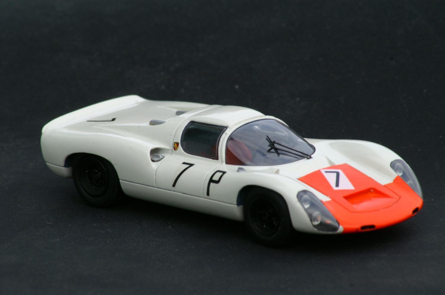 1 43   PORSCHE  910  8CYL  NURBURGbague  1967  VROOM  UNPAINTED  KIT  NO  SPARK  mieux acheter