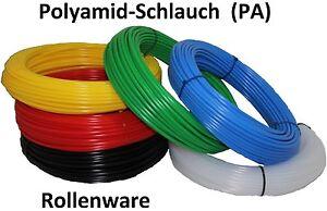 Polyamid-Schlauch-PA-Pneumatik-Schlauch-alle-Farben-Groessen-Rollenware