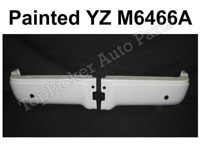 Rear Bumper for 2009-2014 Ford F-150 Painted Black Steel