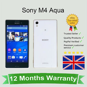 Details about Unlocked Sony Xperia M4 Aqua Android Mobile Phone - 8GB White