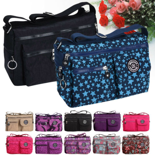 New Women Ladies Casual Handbag Travel Messenger Cross Body Shoulder Bag Purse