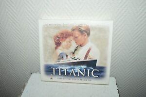 Box Collector Cassette K7 Video TITANIC + Film + 8 Map Postcard