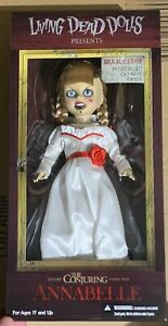 """Annabelle Mezco Living Dead Dolls Halloween 10"""" Conjuring Possessed In Hand Mint"""