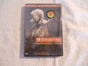 Billy-Idol-039-Storytellers-039-2001-DVD-Imag-E-USA-Code-1-104-Min-New-Sealed