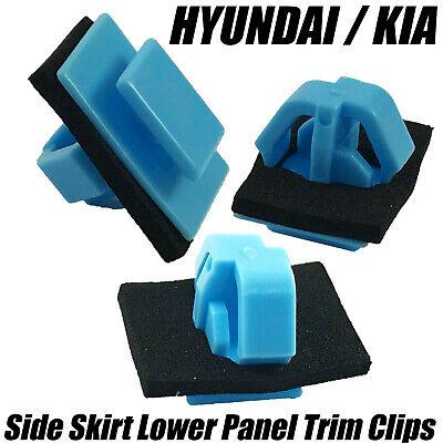 20x Side Moulding Door Trim Clips W//Sealer For Hyundai Santa Fe Kia 87756-1F000
