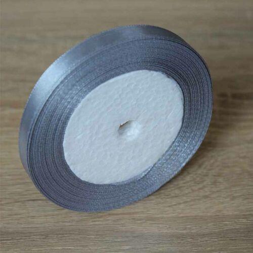 25YD Satin Ribbon 1-5cm Multi Craft Wedding Supplies Flower Fabric Party Decor