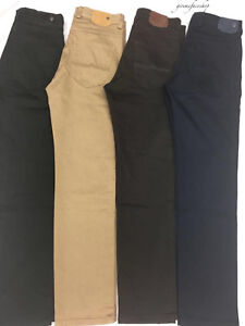 Ajusté 4 Peviani Droit Pantalon G Hommes Couleurs Jeans Tailles Chiné Étoile w41xq8X