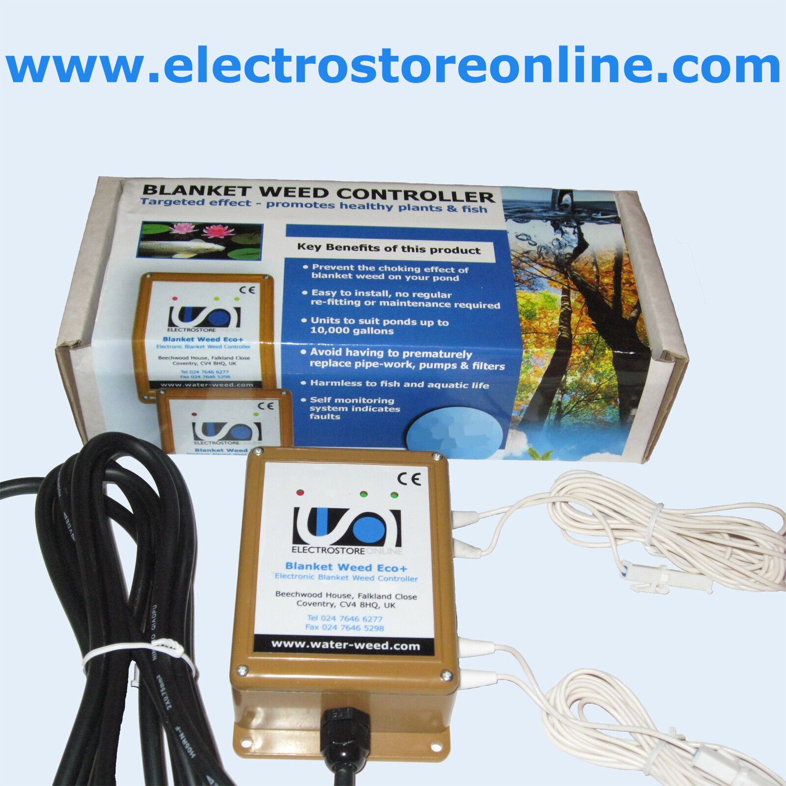 Electrónica Manta Weed Controlador-Eco + (Estanque Grande)