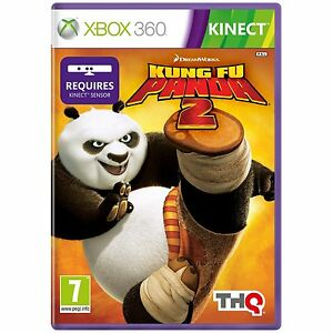 Kung Fu Panda 2 Xbox 360 Game Disney Kinect Pal Euro Cover English