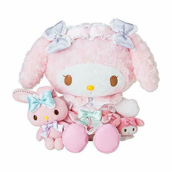 Sanrio My Melodie Omekashi Verkleidung Stil Dx Groß Plüsch Doll 2014 Selten