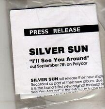 (CM666) Silver Sun, I'll See You Around - DJ CD