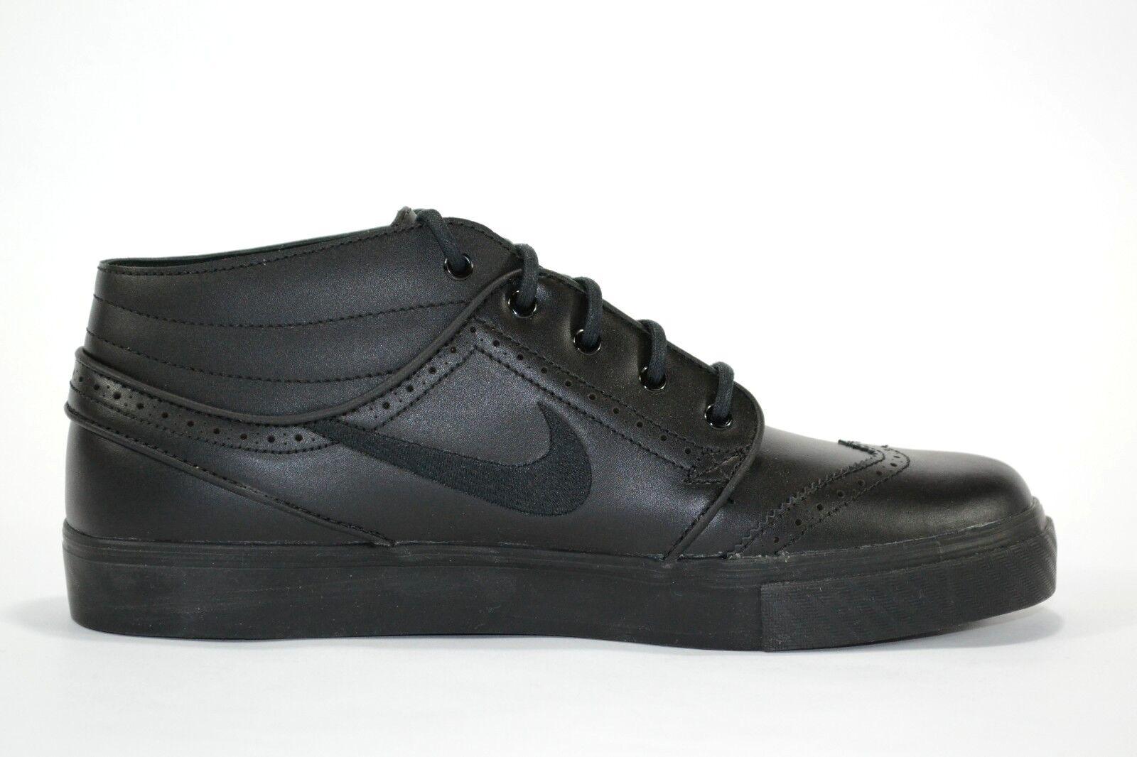 Nike pr zoom stefan janoski md pr Nike di pelle nera, pattinare difettoso (211) scarpe da uomo 5cc1e2