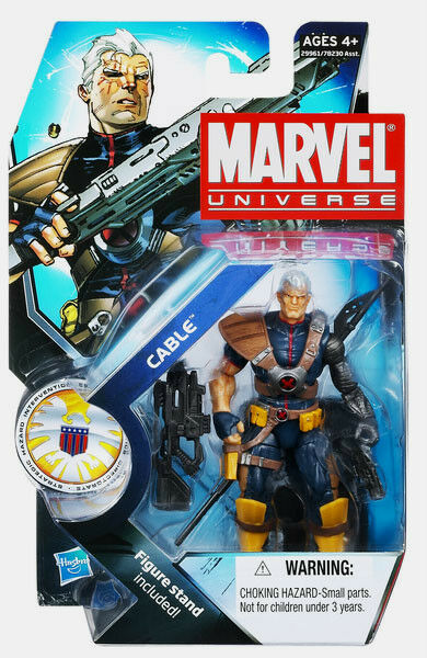 MARVEL UNIVERSE Collection__CABLE 3.75   action figure_Series _New & Unopened