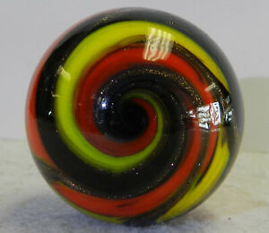#12794m Contemporary Handmade Marble With Lutz 1.49 Inches *Mint*