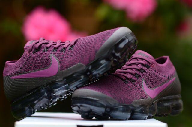 cb919f8f2d790 WMNS Nike Air Vapormax Flyknit Bordeaux Berry Purple Women Running ...