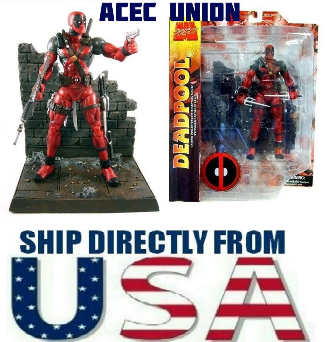 Diamond Select Toys Marvel Select Deadpool 7