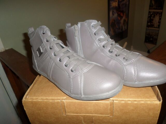 New Comfortview Shoe size 11W shoe boot with side zip in gray