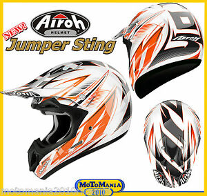 Casco-Cross-Enduro-AIROH-JUMPER-STING-Taglia-XL-61