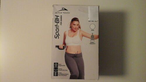 Damen Sport BH 85 D weiss Active Touch  Neu /& OVP