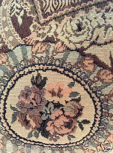 Gorgeous-Gently-USED-tapestry-pillow-vintage-inspired-design