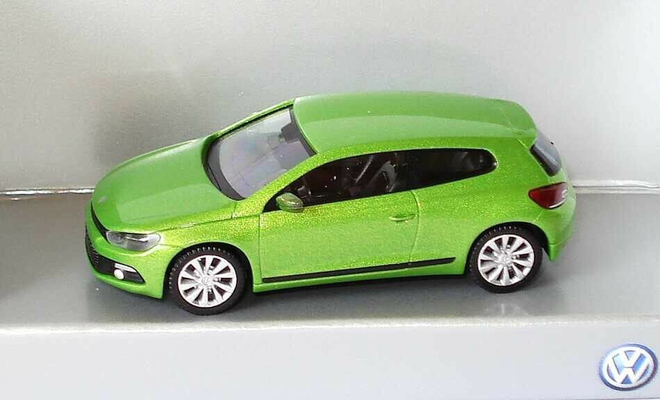 VW SCIROCCO III 3 2009 GT TSI TSI TSI TDI VIPER GREEN 1 87 WIKING (OEM DEALER MODEL) 5081e3