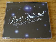 CD Single: Fun Lovin` Criminals : Love Unlimited