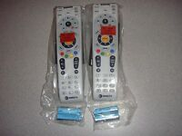 DIRECTV RC66RX LOT 2 IR/RF TWO NEW REMOTE CONTROL FREE BATTERIES REPLACES RC65RX