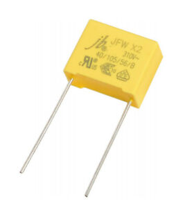 10-pcs-Interference-Suppression-Capacitor-PP-X2-470nF-310VAC-RM22-NEW-BP