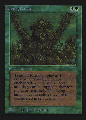 Living Lands Collectors/' Edition NM Rare CARD ABUGames