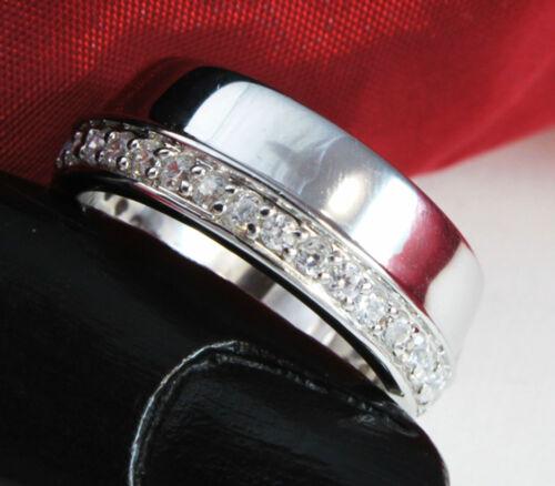18,1mm Schmucketui Echter 925 Silber DAMEN RING Gr.57 mit Zirkonia inkl