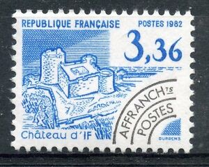 STAMP-TIMBRE-FRANCE-NEUF-PREOBLITERE-N-177-CHATEAU-D-039-IF