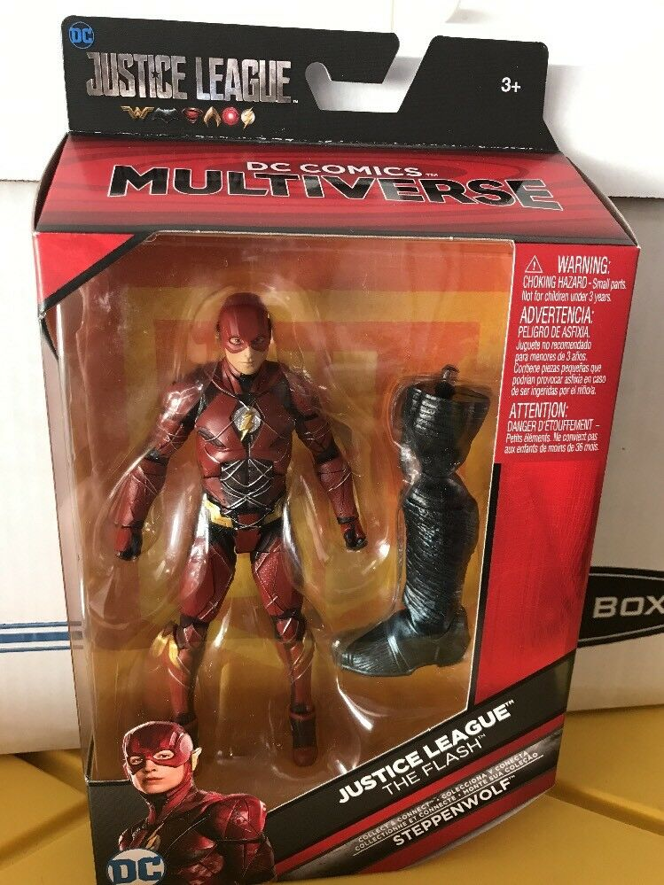 2017 Justice League The Flash (Steppenwolf) DC Multiverse 6in Figure