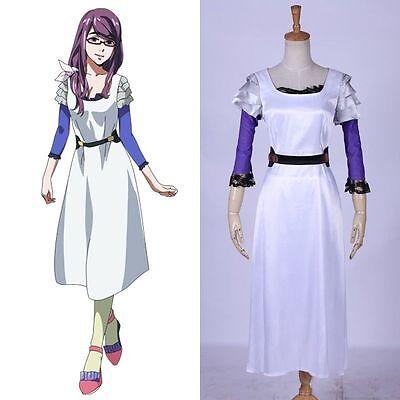 Tokyo Ghoul Tatara Senior Cadres White Uniform Cosplay Costume