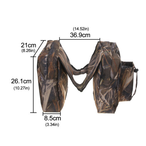 ATV UTV Camouflage Motorcycle Cargo Storage Gas Tank Saddle Bag Waterproof 2019