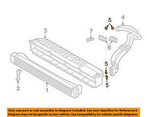BMW OEM 01-06 M3 3.2L-L6-Oil Cooler Line O-ring 17222245358