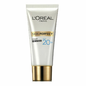 L-039-Oreal-Paris-Age-20-Skin-Perfect-Cream-UV-Filters-18g-Cure-pimples-amp-blemishes