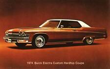 Old Print. Brown 1974 Buick Electra Custom Hardtop Coupe Auto Ad