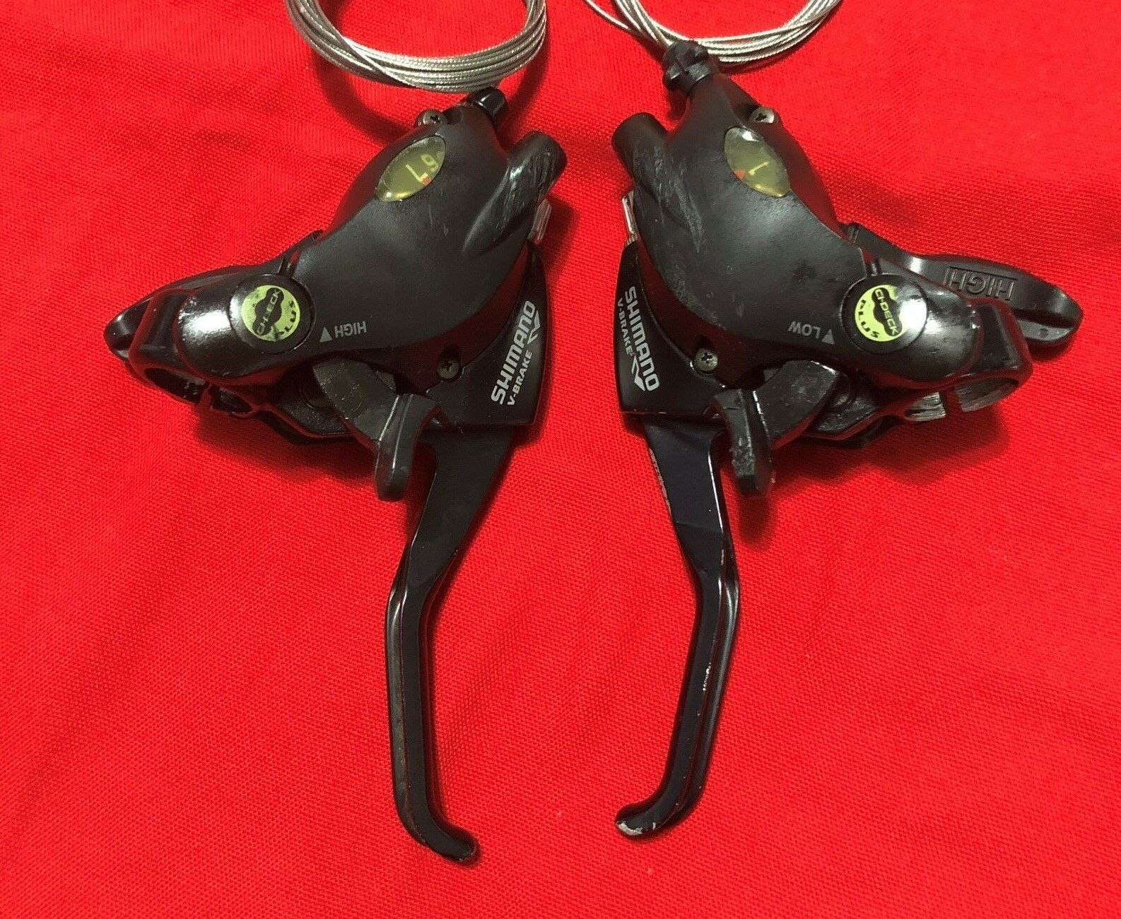 ORIGINAL SHIMANO ST-M29-7  ACERA SHIFT BRAKE  LEVER SET FOR 7 SPEED  fast delivery and free shipping on all orders