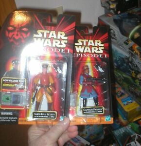 STAR WARS NABOO SOLDIER EP1 COMM TECH CHIP STAND FOR 3.75 INCH FIGURES