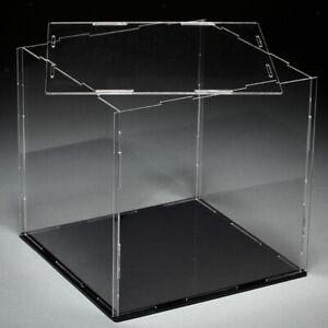 Acryl Einzelvitrine Vitrine Schaukasten Acrylbox Schutzbox für Actionfiguren //