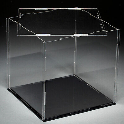 18x18x18cm Acryl Vitrinen Display Case Box Einzelvitrine für Actionfiguren
