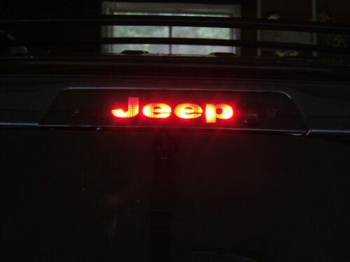 3rd Brake Light Decal Sticker fits 2008 2009 2010 JEEP GRAND CHEROKEE