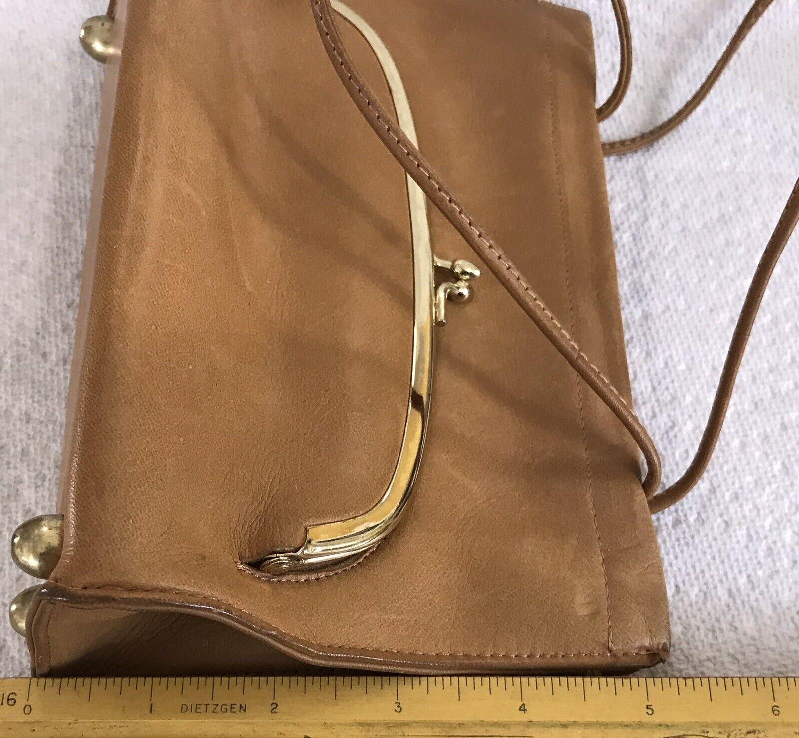Vintage Coach Rare Leather Bonnie Cashin Stripe I… - image 12
