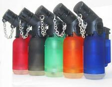 10 Pack 45 Degree Angle Jet Flame Butane Torch Lighter Refillable Windproof -NEW