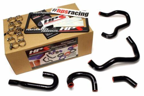 HPS Black ReinForced Silicone Heater Hose Kit For Honda 06-09 S2000Tubo